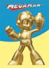 Gold Mega Man